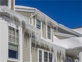 Ice Dam Help Through Home Loan Rehab Program