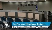 Live, In-Person Meetings Return in Elk River