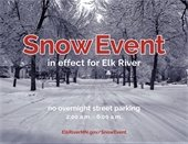Snow Event In Effect