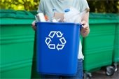 Loose Items in Recycling Carts