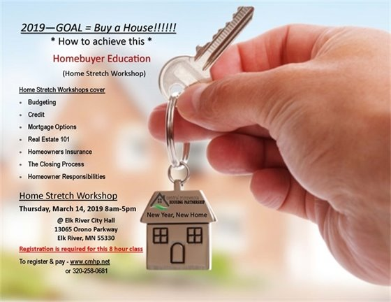 Home Stretch Workshop, March 14