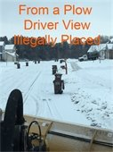Plow Driver View Illegally Placed Containers