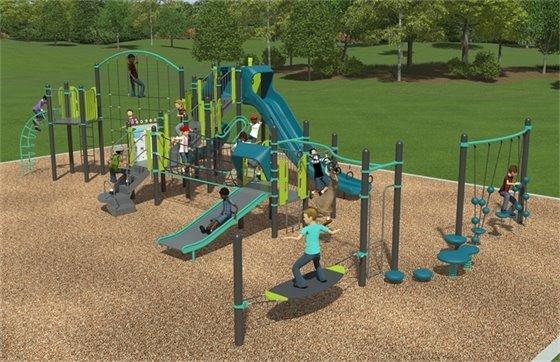 Playground Upgrade Design Image