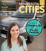 Cover of Minnesota Magazine Featuring Elk River