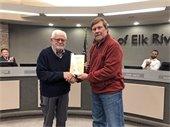Jerry Olsen Farewell Council Meeting