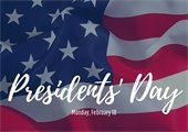 Presidents Day Closures