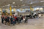Salt Tour with Students at Public Works
