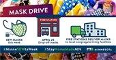 Minnesota Mask Drive Donation Drop Off