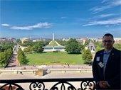 Councilmember Christianson in Washington DC