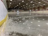 Final Ice Out at The Barn