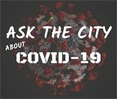 Ask the City COVID-19 Website Function