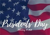 Presidents' Day City Offices Closed