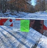 Hillside Park Closed for Spring Thaw