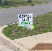 Garage Sale Signs in Elk River