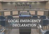Mayor Dietz Declares Local Emergency