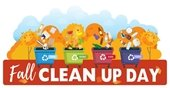 Fall Clean Up, October 12