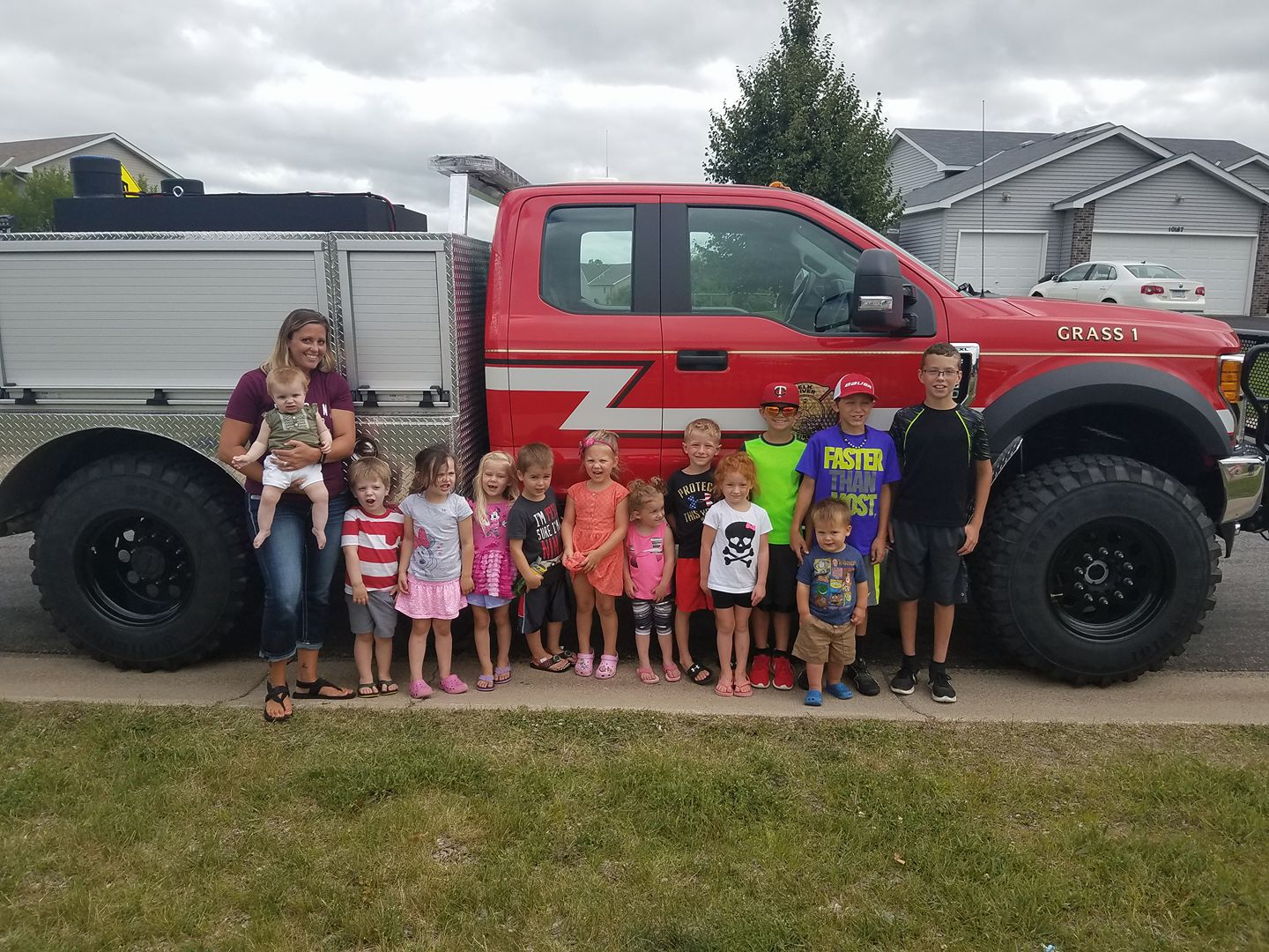 Truck Visit - Daycare Group