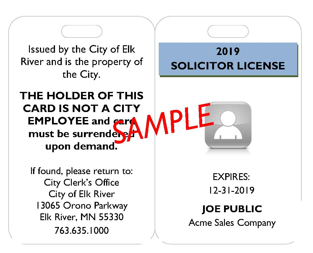 2018 ID BADGE SOLICITOR