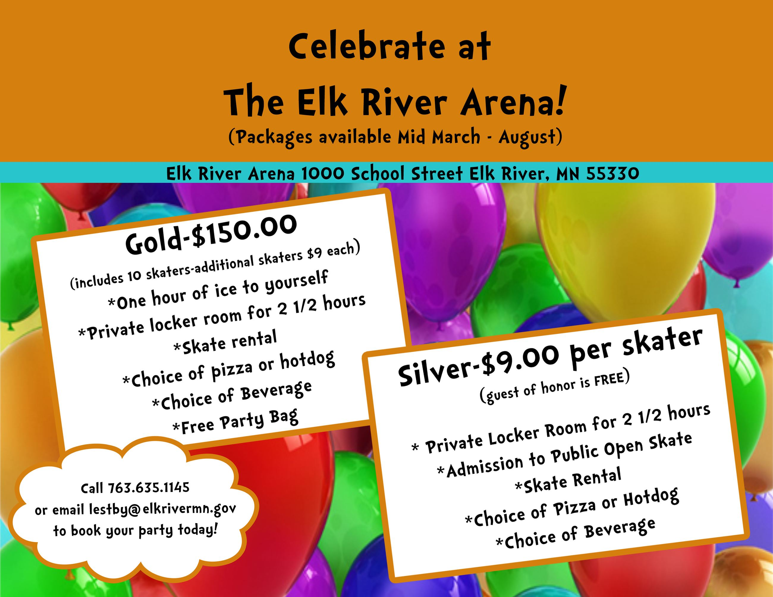 Elk River Arena | Elk River, MN - Official Website