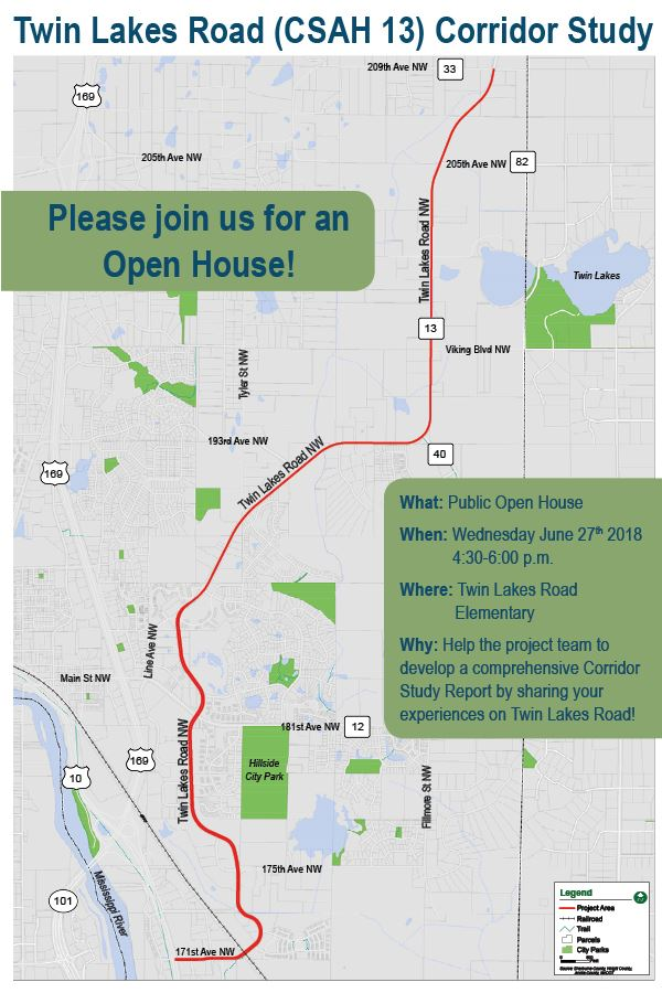 Twin Lakes Road Corridor Study