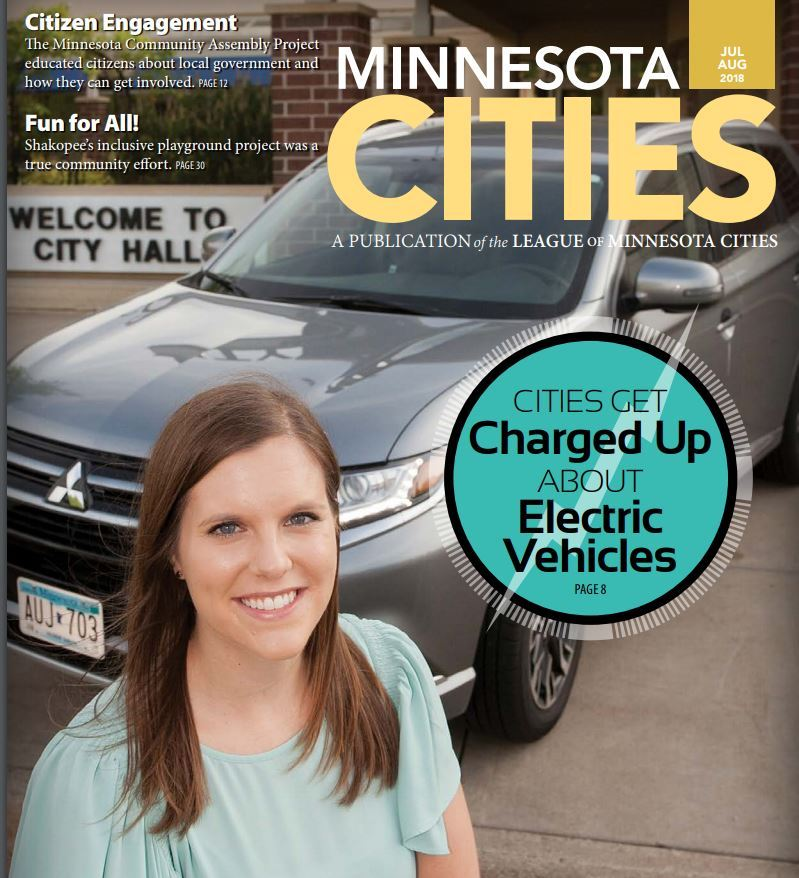 League of MN Cities Cover