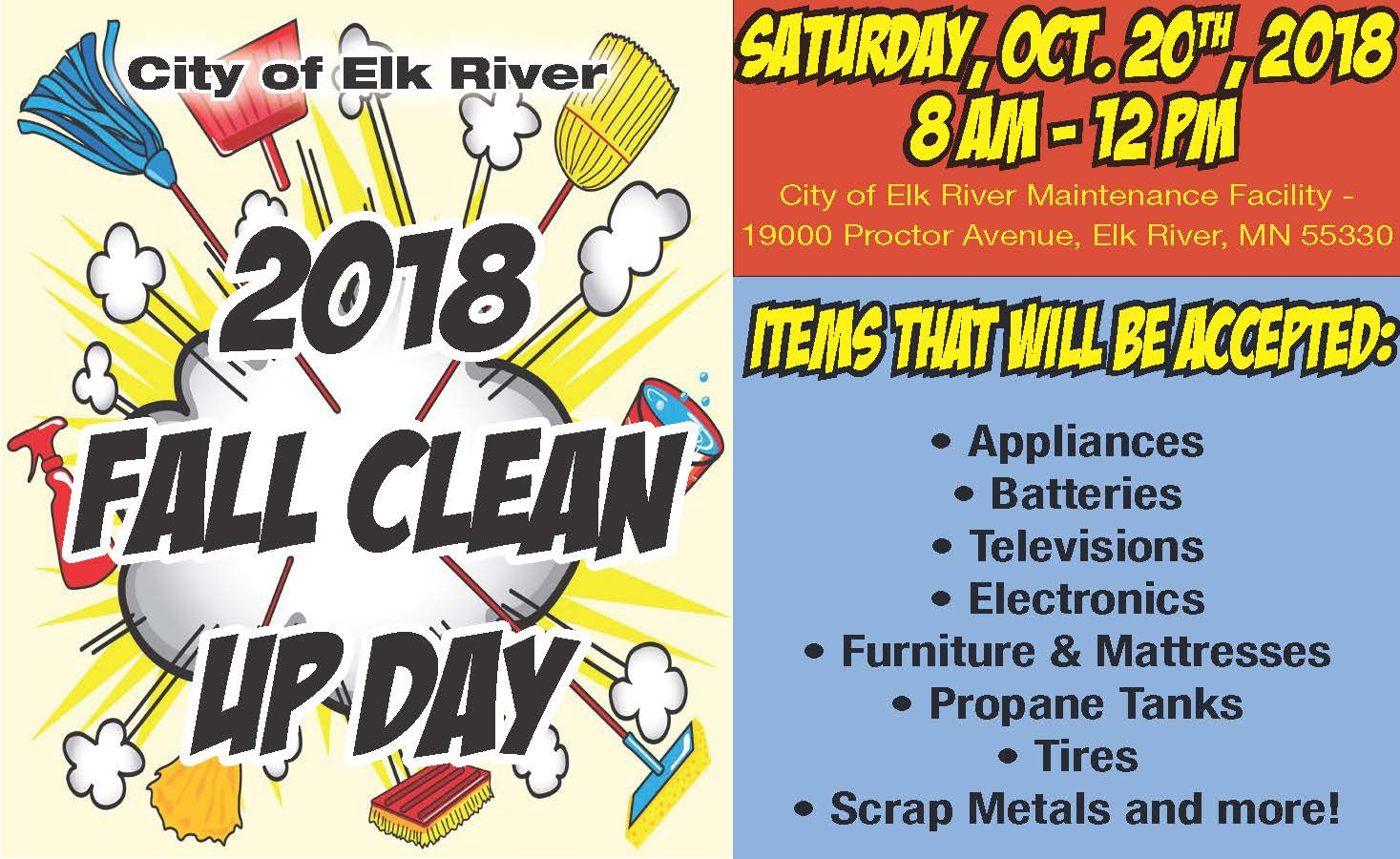 Fall Clean Up Day 2018