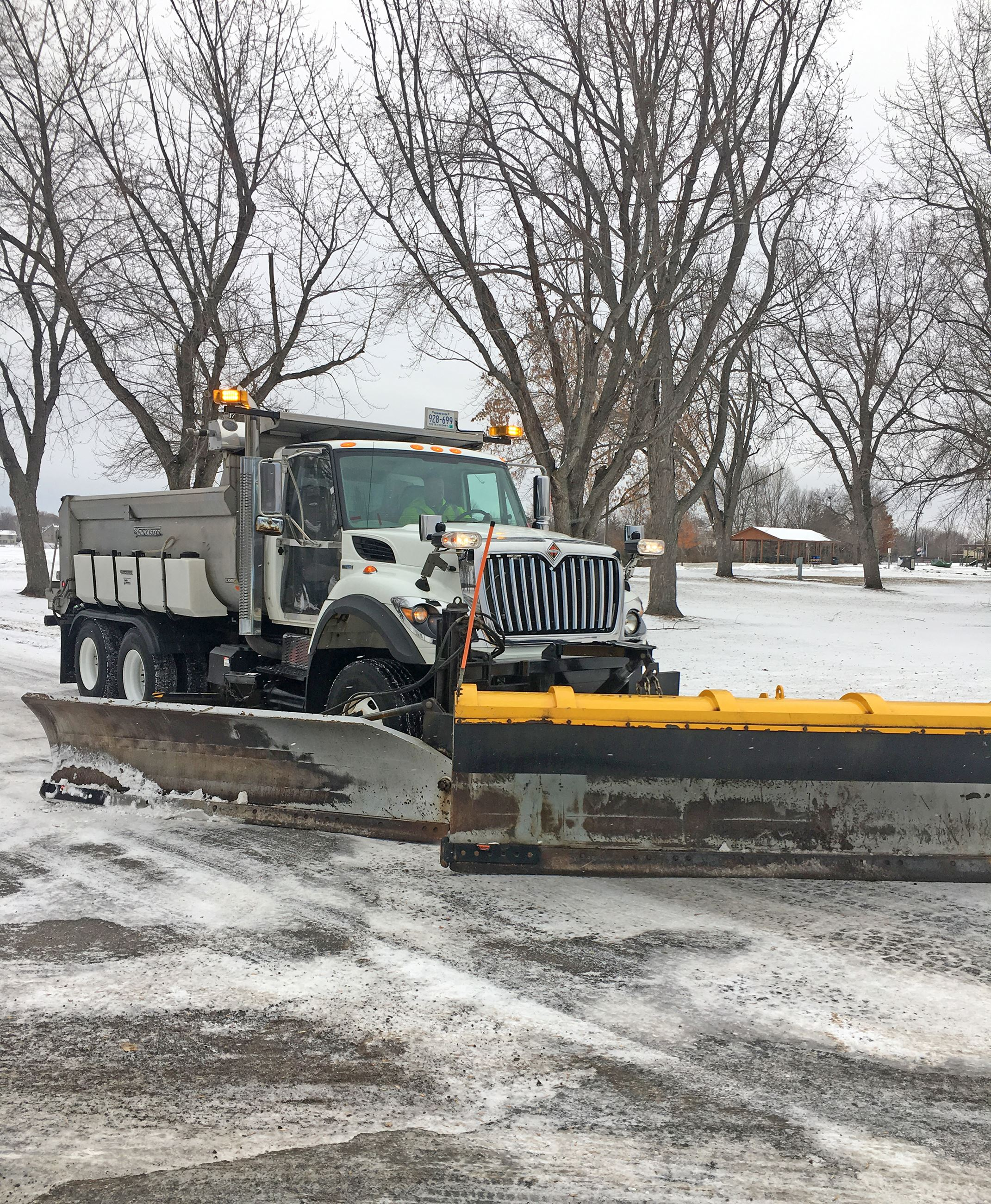 Snow Operation Plow