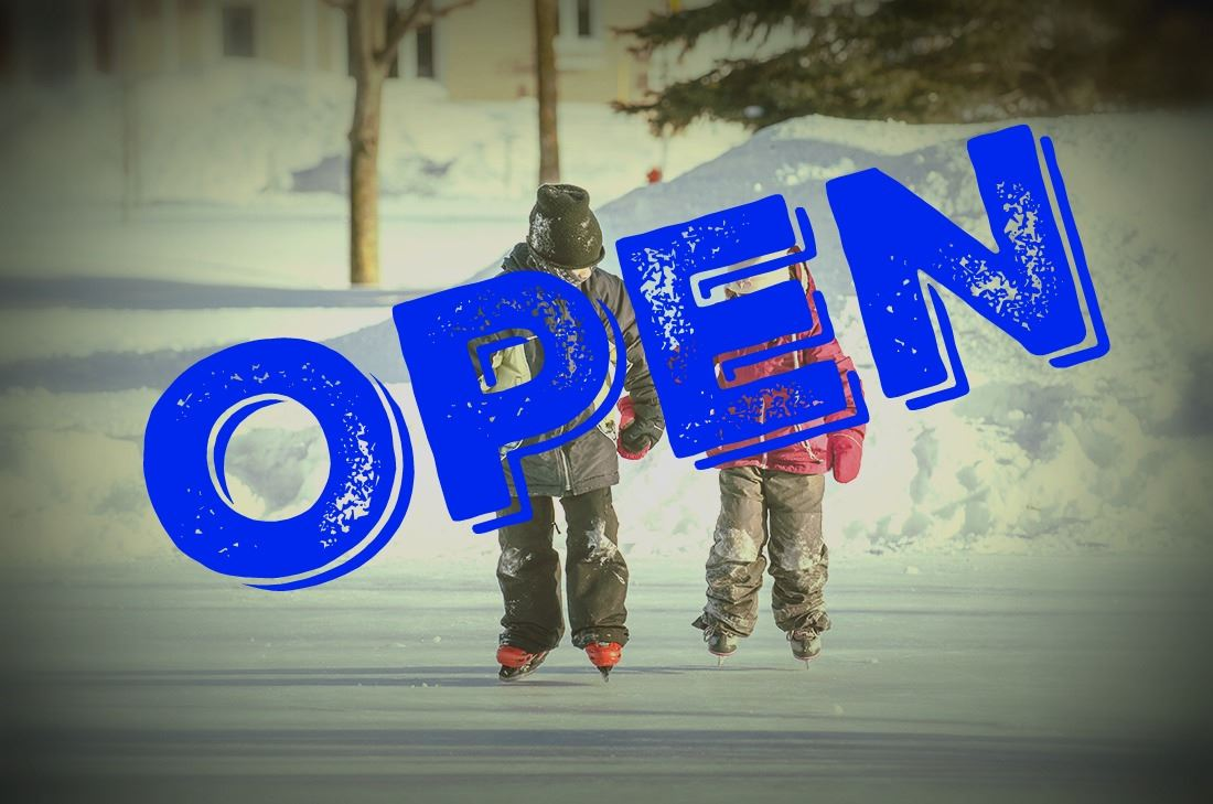 Outdoor Ice Skating  - Rinks Open