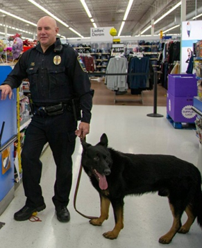 K-9 Duke and Officer