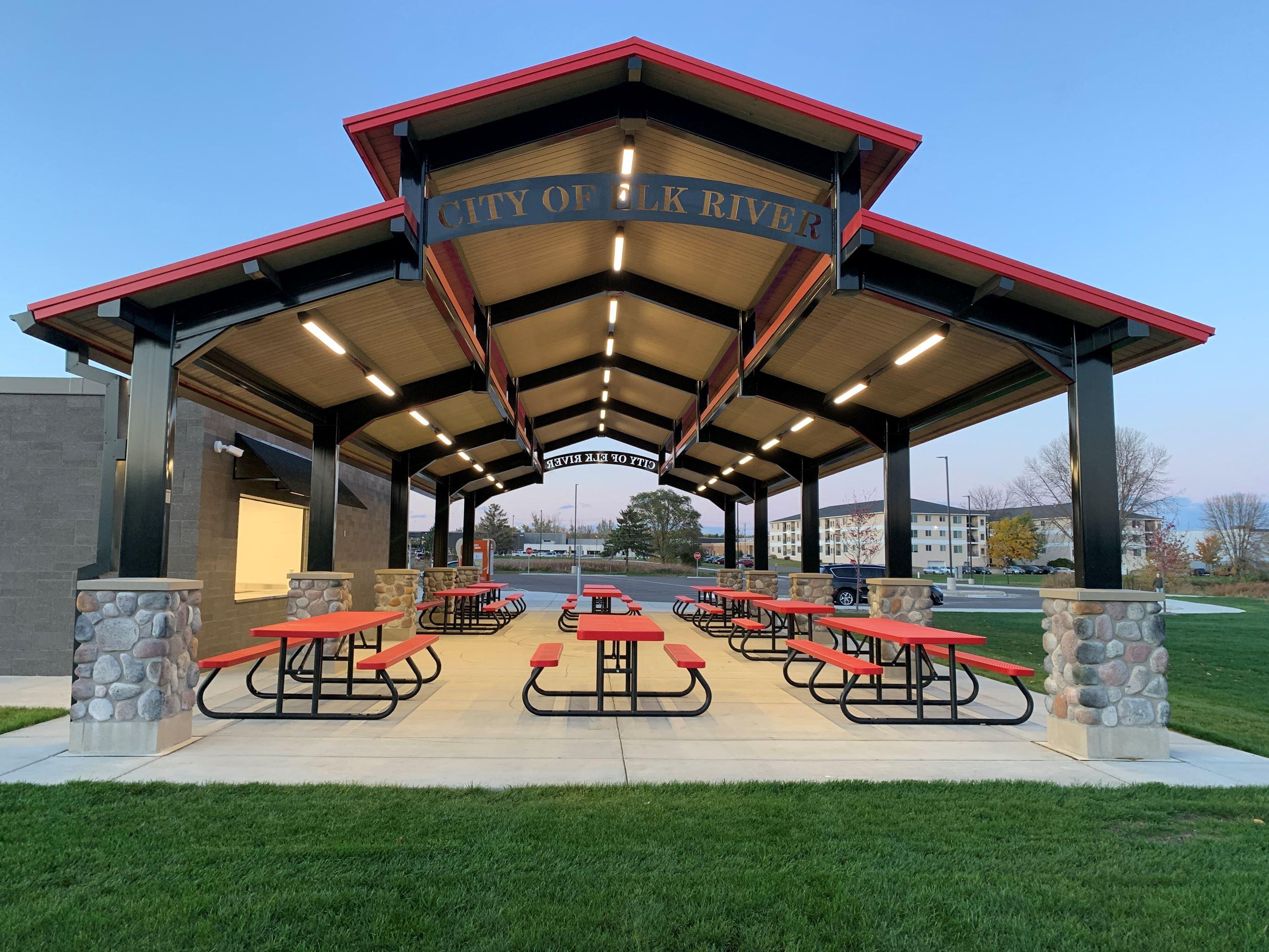 LP Pavilion at Dusk