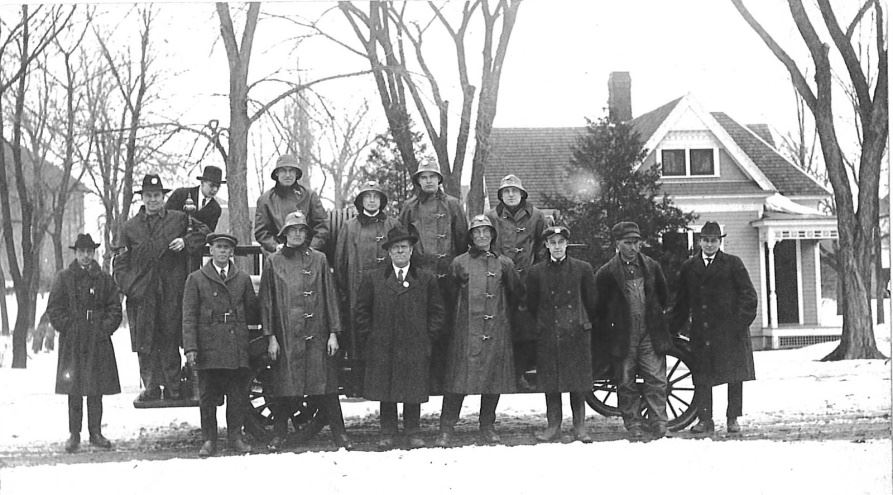 Early Fire Department Members (group photo)