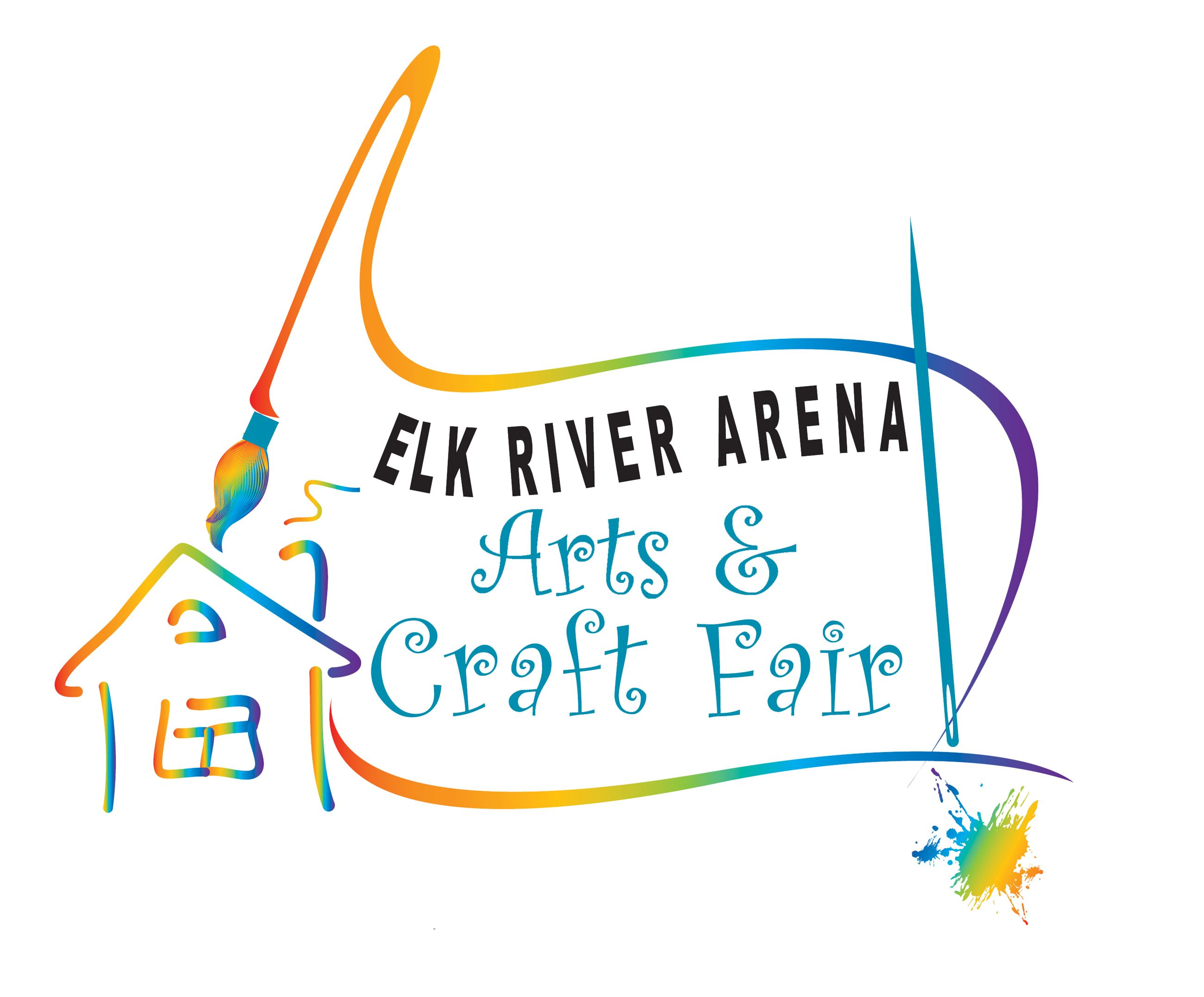 Elk River Arena Arts and Crafts show logo