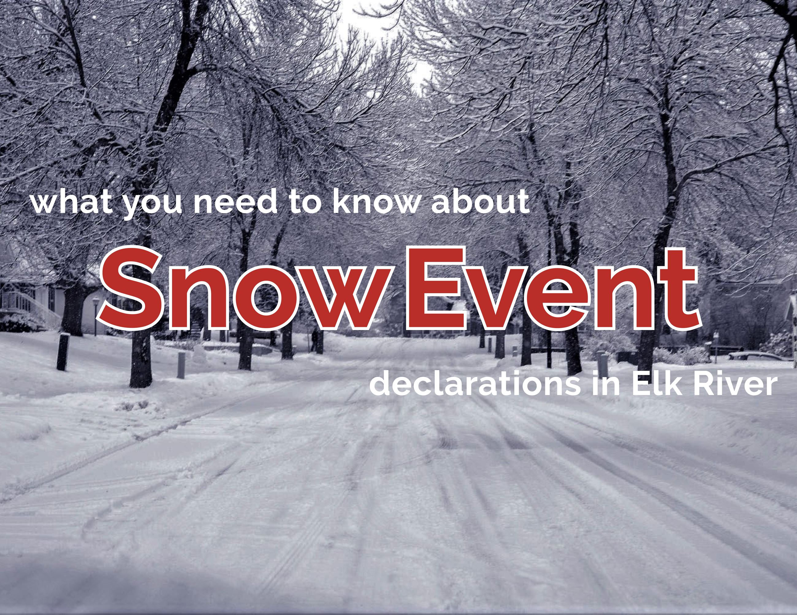 Snow Event Refresher Graphic - Social Media