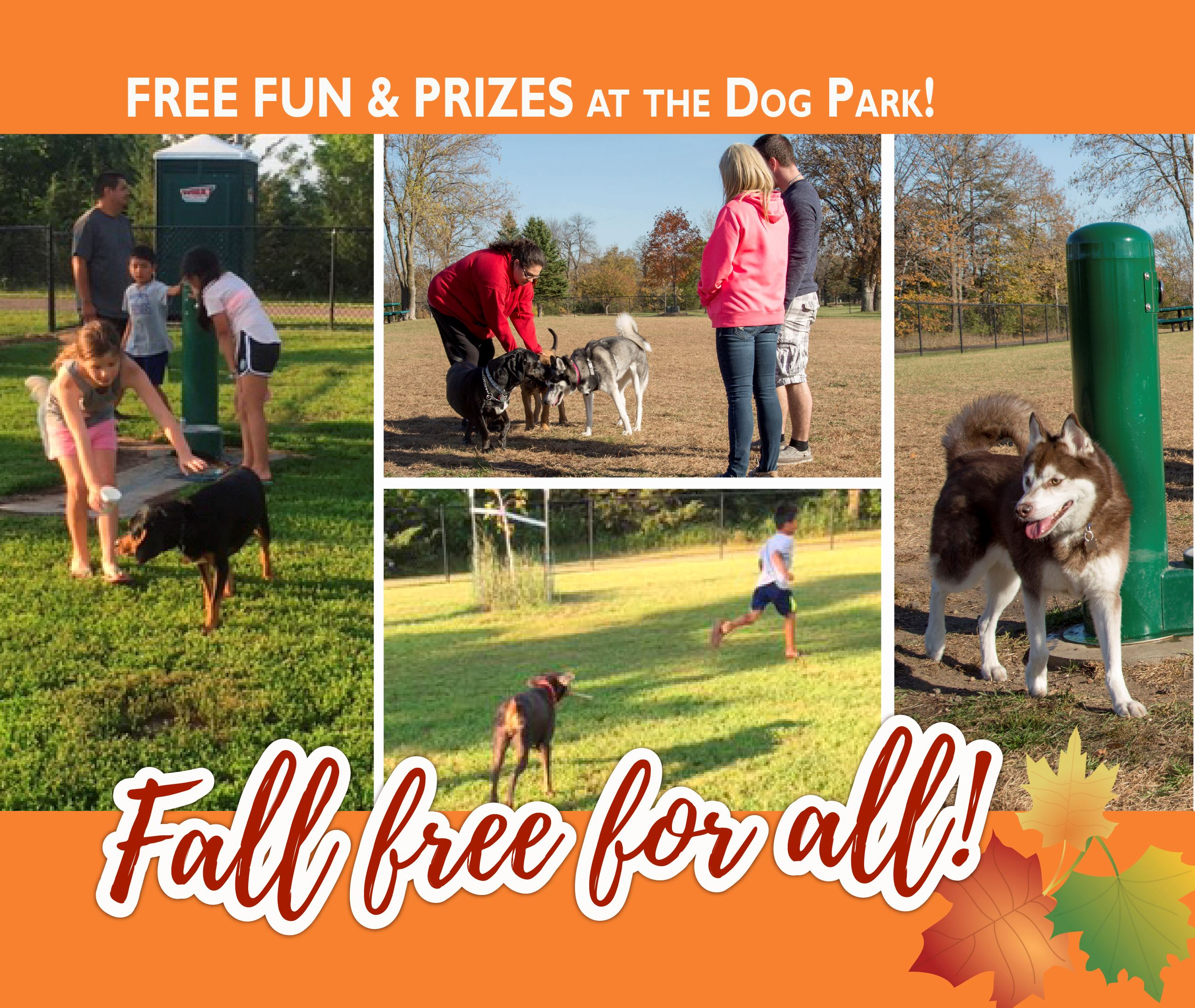 Fall Free for All - Dog Park Event